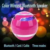 Wireless Bluetooth Speaker met Subwoofer - Roze