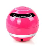Wireless Bluetooth Speaker met Subwoofer - Roze