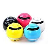 Wireless Bluetooth Speaker met Subwoofer - Geel