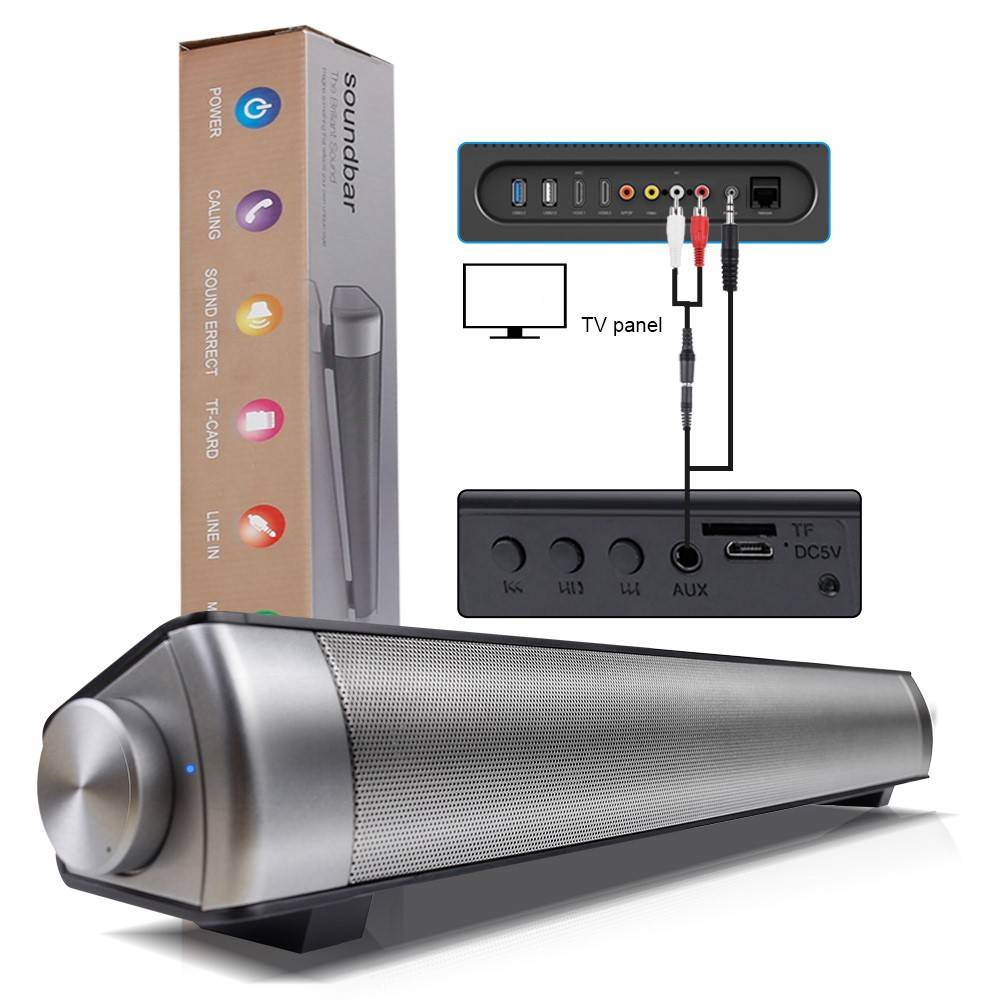 SOUNDBAR Mega Bass Bluetooth Speaker