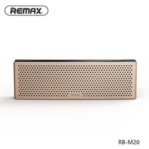 M20 Metalen Bluetooth HD Speaker - Goud