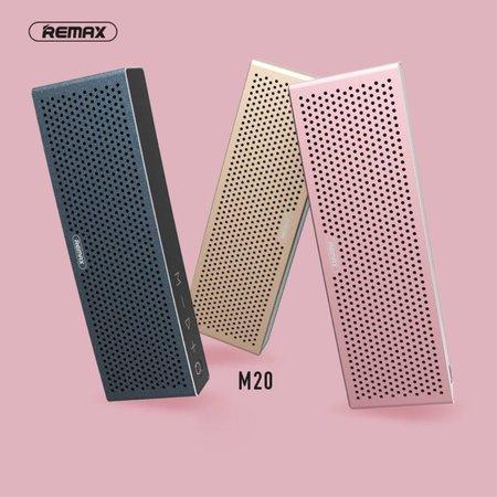 Remax Remax M20 Metalen Bluetooth HD Speaker - Goud