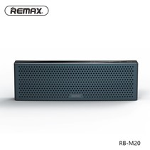 M20 Metalen Bluetooth HD Speaker - Blauw