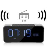 Metalen Wireless Bluetooth 4.0 Speaker met Display - Zilver