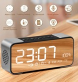 Metalen Wireless Bluetooth 4.0 Speaker met Display - Rozegoud