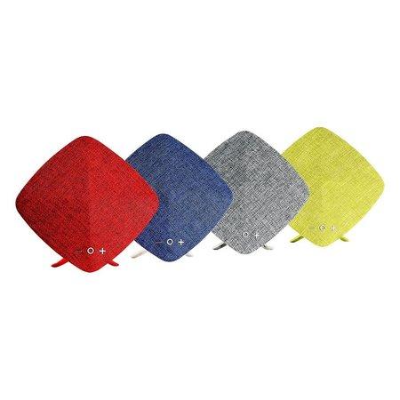 Joyroom Joyroom M03 Zijde Bekleed Bluetooth Speaker - Grijs