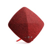 M03 Zijde Bekleed Bluetooth Speaker - Rood