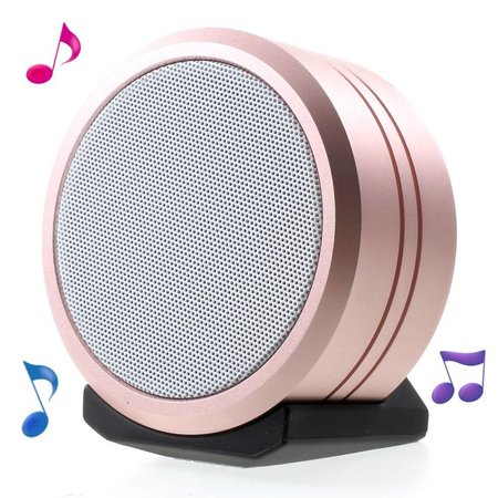 JKR-8 Waterbestendig TWS Bluetooth 4.2 Speaker - Roségoud