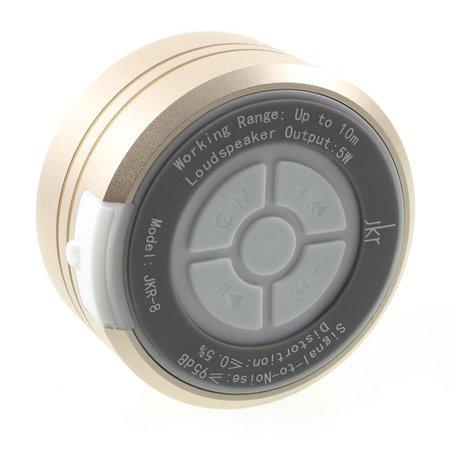JKR-8 Waterbestendig TWS Bluetooth 4.2 Speaker - Goud