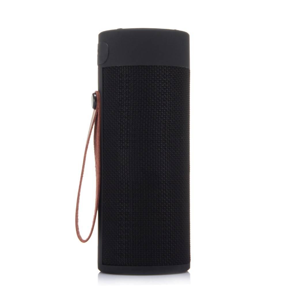T4 Cylinder Design Bluetooth 4.2 Speaker - Zwart