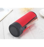 T4 Cylinder Design Bluetooth 4.2 Speaker - Rood