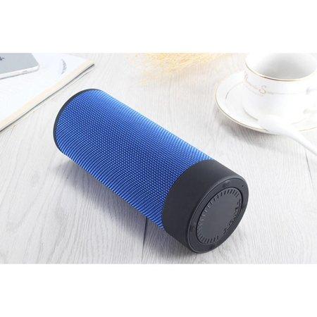 T4 Cylinder Design Bluetooth 4.2 Speaker - Blauw