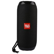 TG117 Bluetooth Speaker Mesh Design Waterbestendig - Zwart