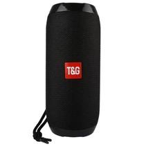 TG117 Bluetooth Speaker Mesh Design Waterbestendig - Zwart
