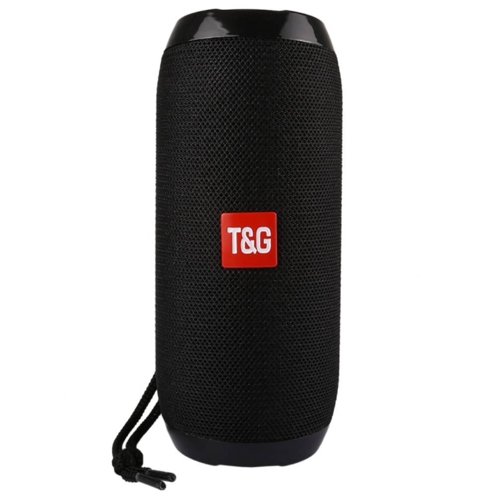 T&G T&G TG117 Bluetooth Speaker Mesh Design Waterbestendig - Zwart
