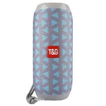 TG117 Bluetooth Speaker Mesh Design Waterbestendig - Grijs / Blauw