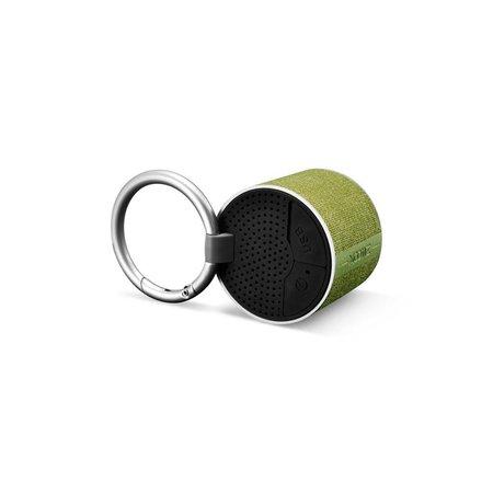 Xoomz Xoomz BF-120 Metalen Bluetooth 4.2 Speaker met Gesp - Groen