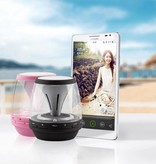 M28 Mini LED Wireless Bluetooth Speaker - Zwart