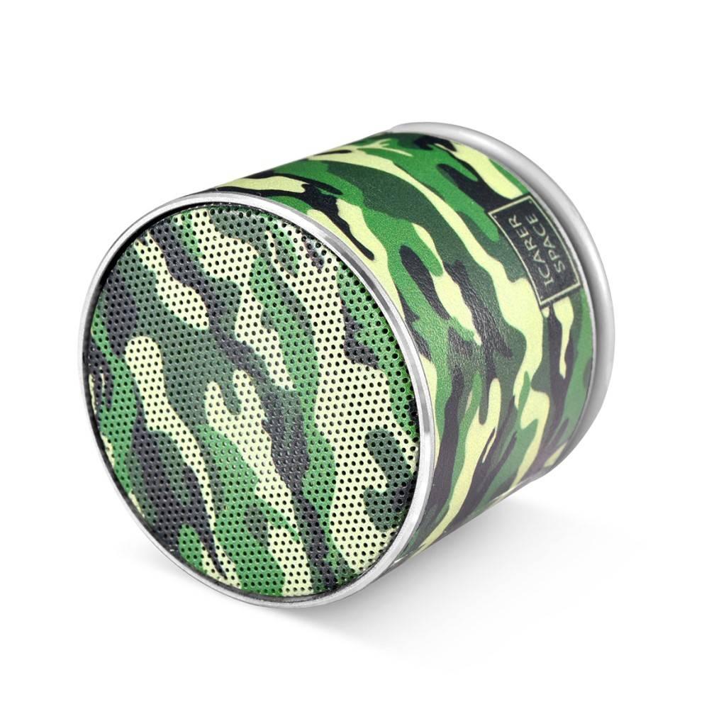 Icarer Icarer SPACE BF-120 Mini Bluetooth 4.2 Speaker - Camouflage