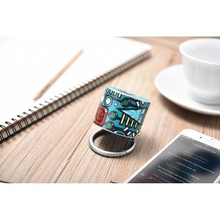 Icarer Icarer SPACE BF-120 Mini Bluetooth 4.2 Speaker - Cyaan Design
