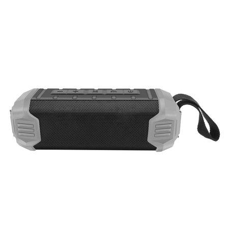 NR-1000 Bluetooth Speaker met Ingebouwde 5000mAh Powerbank - Grijs