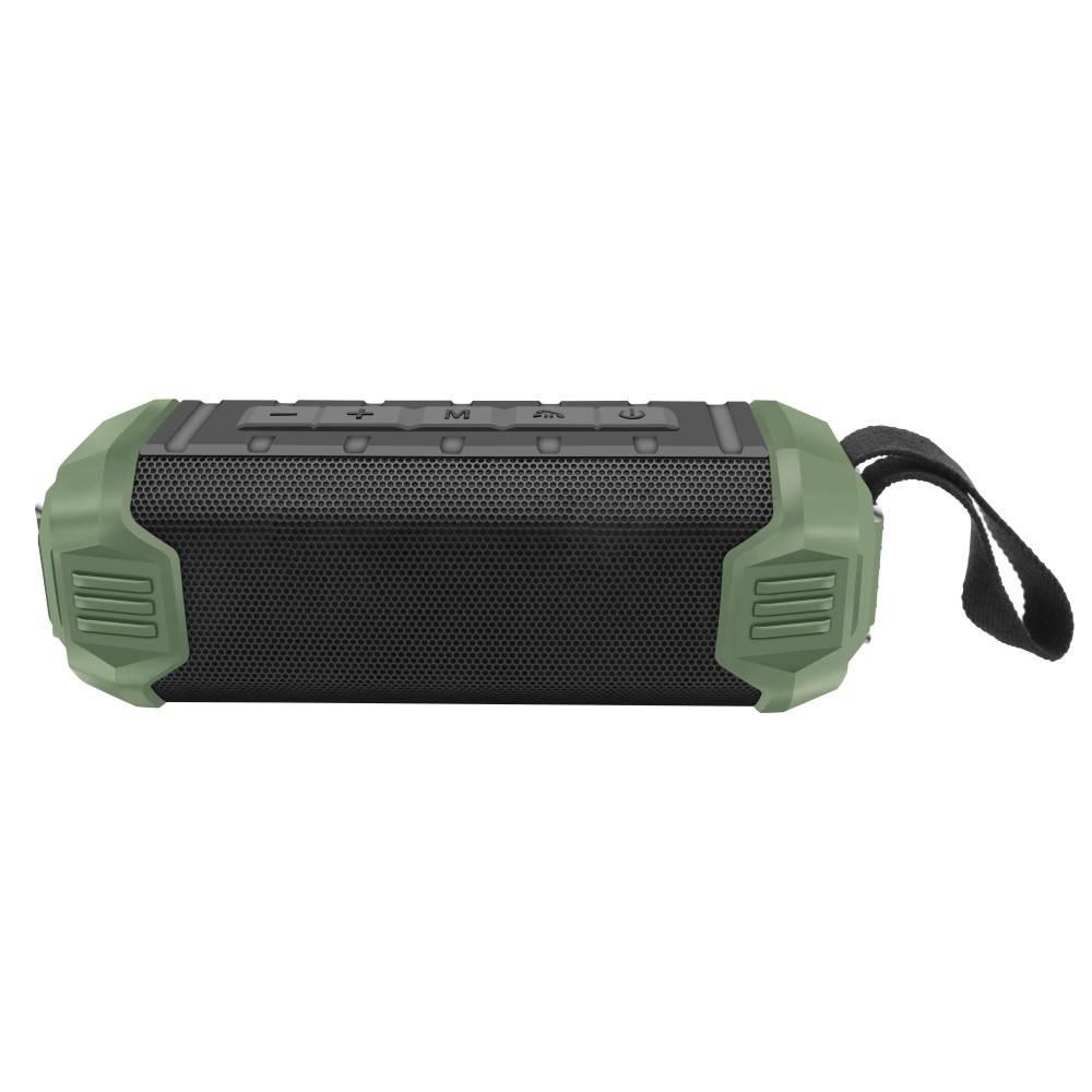NR-1000 Bluetooth Speaker met Ingebouwde 5000mAh Powerbank - Groen