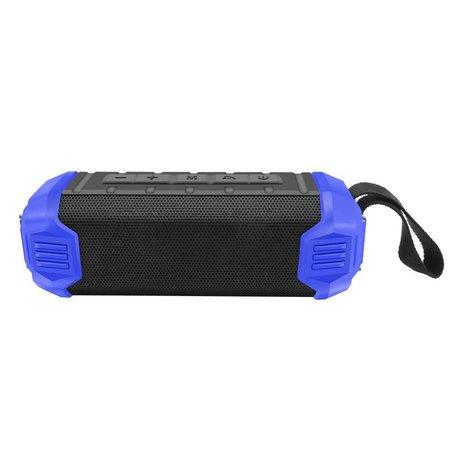 NR-1000 Bluetooth Speaker met Ingebouwde 5000mAh Powerbank - Blauw