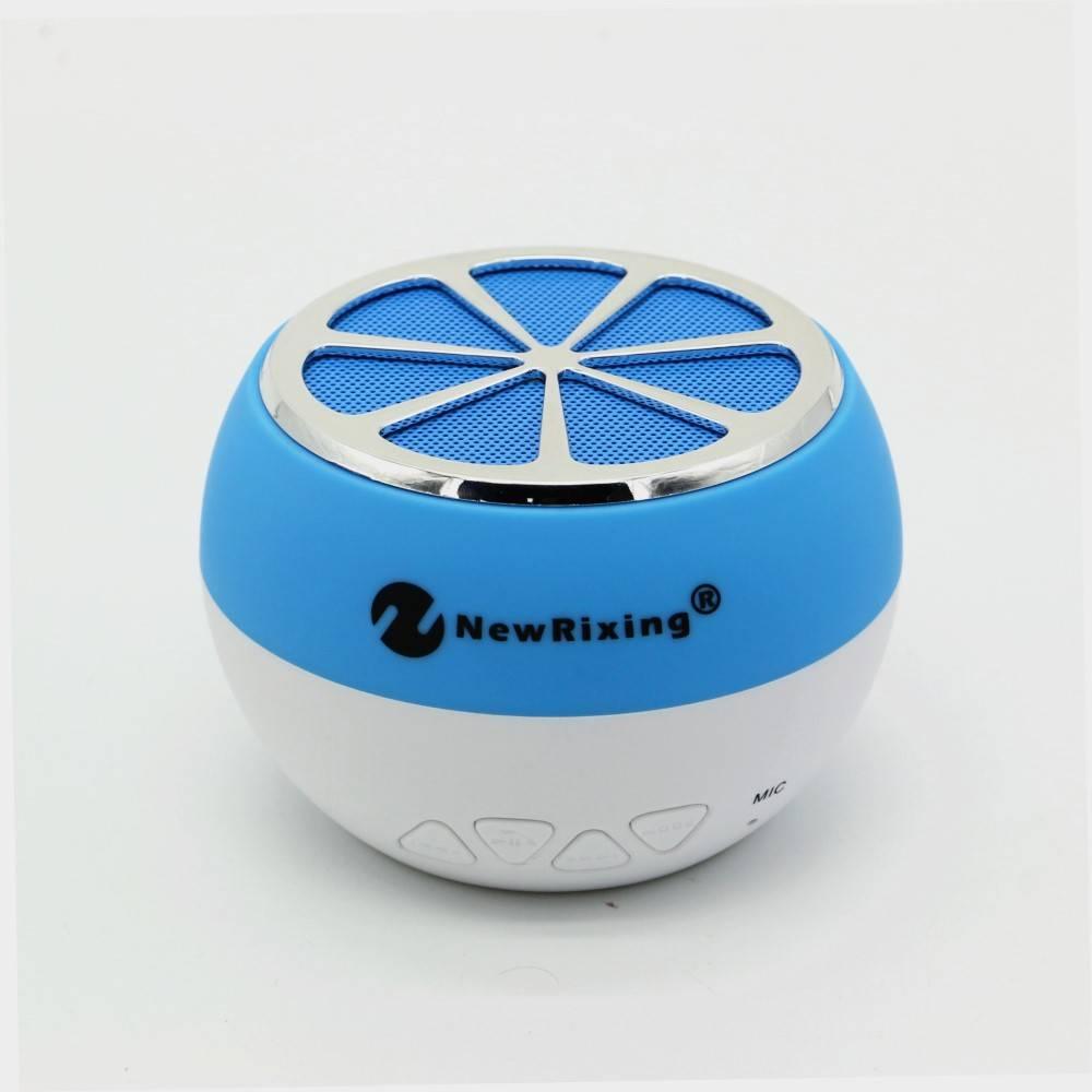NR-1012 Sinaasappel Design Bluetooth Speaker - Blauw