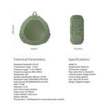 Nillkin Nillkin S1 PlayVox Shockproof Bluetooth Speaker Support - Rood