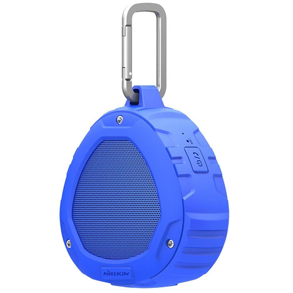Nillkin Nillkin S1 PlayVox Shockproof Bluetooth Speaker Support - Blauw