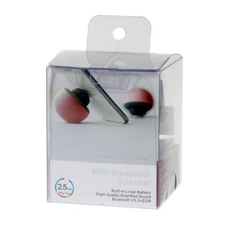 Paddenstoel Design Bluetooth Speaker met Zuignap - Blauw