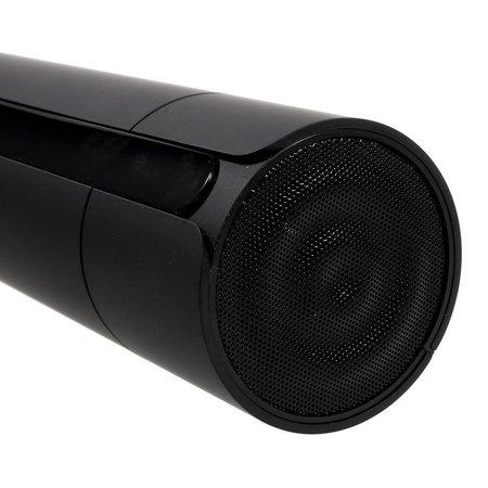 JKR JKR NFC + Bluetooth Speaker met Touchscreen + 3D Surround + Subwoofer - Zwart