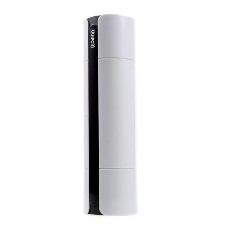 JKR JKR NFC + Bluetooth Speaker met Touchscreen + 3D Surround + Subwoofer - Wit