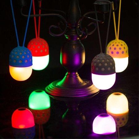ZL-106 Firefly LED Bluetooth Speaker - Grijs