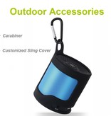 Zealot Zealot S5 Outdoor Bluetooth Speaker met Karabijnhaak - Blauw