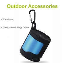 S5 Outdoor Bluetooth Speaker met Karabijnhaak - Blauw