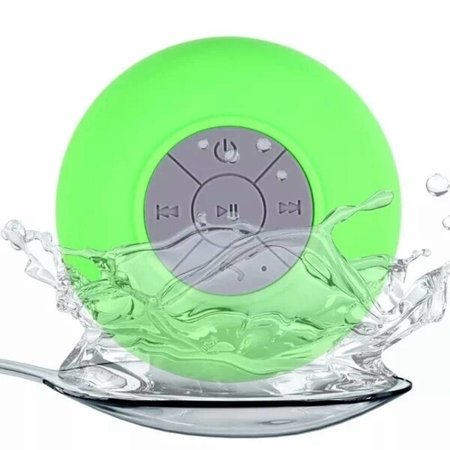 Mini Zuignap Bluetooth Speaker voor o.a. in Douche - Groen