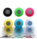 Mini Zuignap Bluetooth Speaker voor o.a. in Douche - Roze
