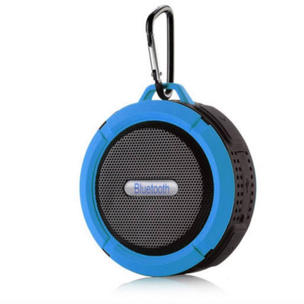 C6 IP65 Zuignap Outdoor Bluetooth Speaker - Blauw