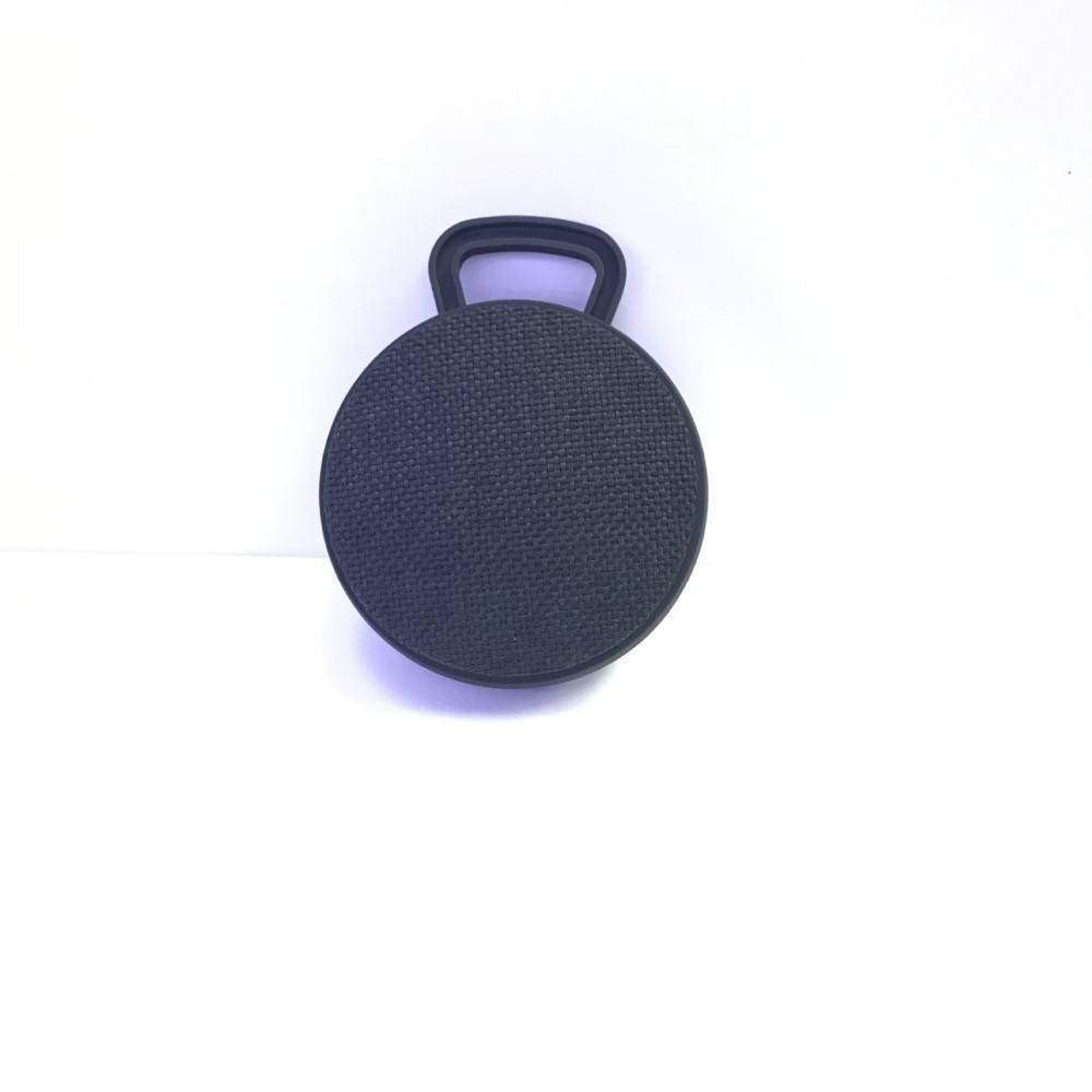 Mini Bluetooth Speaker met Ophanghaakje - Zwart
