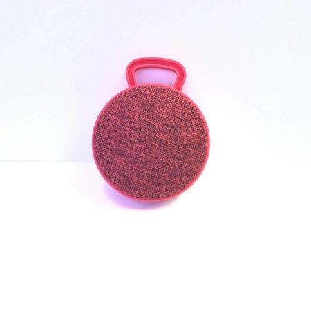 Mini Bluetooth Speaker met Ophanghaakje - Rood