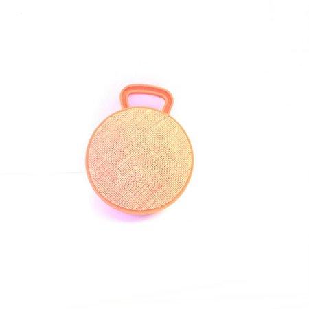 Mini Bluetooth Speaker met Ophanghaakje - Oranje