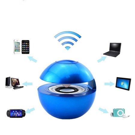 BT-118 3D Geluid Bluetooth Speaker met NFC - Blauw