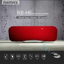 RB-H6 Bluetooth Speaker met DSP en NFC - Rood