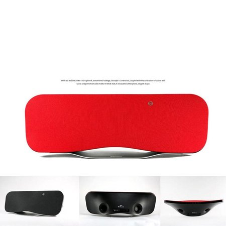 Remax Remax RB-H6 Bluetooth Speaker met DSP en NFC - Rood