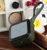 W-King W-King S7 Waterbestendige Bluetooth Speaker met NFC - Legergroen