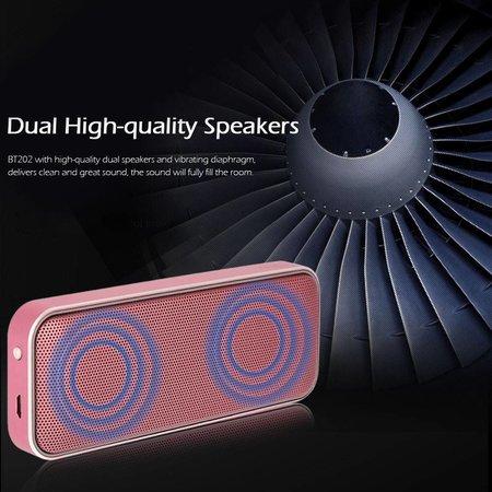 AEC AEC BT202 3D Surround Bluetooth 4.1 Speaker 10W - Roségoud