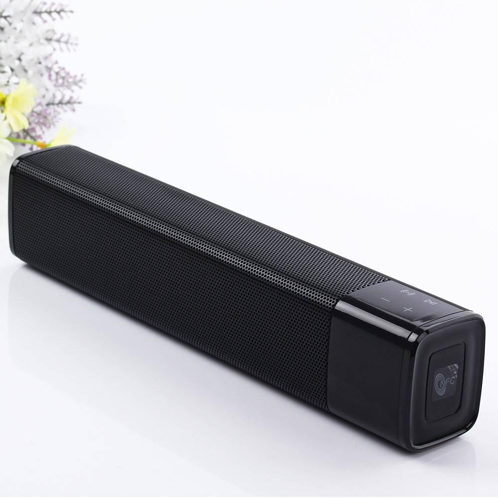 JKR JKR KR-1000 Bluetooth V4.1 Speaker met Ingebouwde Powerbank - Zwart