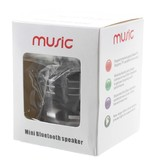 S28 Metalen Mini Bluetooth Speaker - Zwart
