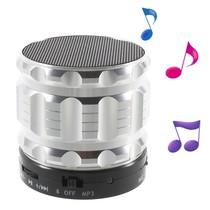 S28 Metalen Mini Bluetooth Speaker - Zilver